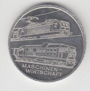 Médaille DDR Train Machines Économie Reichsbahndirektion Hall