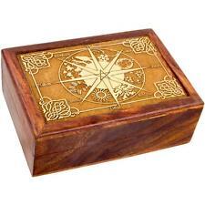 Wooden Pagan Calendar Stash or Tarot Box!