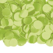 Konfetti grün 1kg Deko Hochzeit Hochzeitsdeko schwer entflammbar