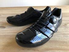 Giro Factor Techlace Carbon Road Cycling Shoes Black Mens 42.5 9.5 Easton EC90