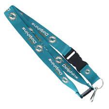 Miami Dolphins Premium Lanyard [NEW] Key Chain Ring Id Holder Badge Aminco