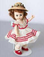 Vintage 1955 Madame Alexander Doll #447 Wendy Ann - Tea Party at Grandma's - SLW