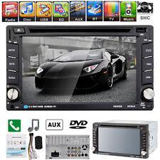 6.2'' Double 2DIN In Dash GPS Navi Car DVD TV Player Bluetooth Auto Stereo Radio