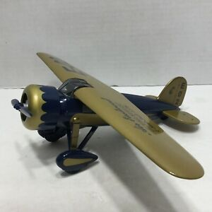 Air Eastwood Flying Service Bank 1932 Lockheed Vega Model 5C Diecast Metal