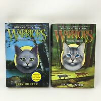 Warrior Cats Omen Of The Stars Hardcover Book 1 & 2 First Edition First Printing