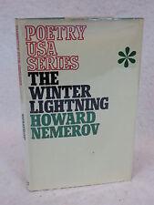 Howard Nemerov  THE WINTER LIGHTNING Rapp & Whiting,London  First Printing 1968