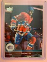 A3430 - 2017-18 Upper Deck Clear Cut #105 Phillip Danault