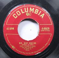 50'S & 60'S 45 The Four Lads - No, Not Much / I'Ll Never Know On Columbia