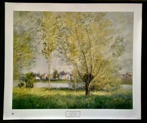 Willows of Vétheuil by Claude Monet, Print