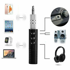 Wireless Bluetooth Receiver 3.5mm Aux Audio Stereo Hands Free Car Adapter