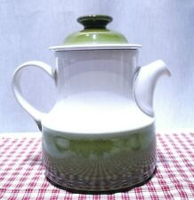 "DENBY PAINTER'S PALETTE GREEN 7"" High COFFEE POT  MINT!"