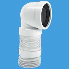 McAlpine 90deg flessibile WC connettore wc-con8f