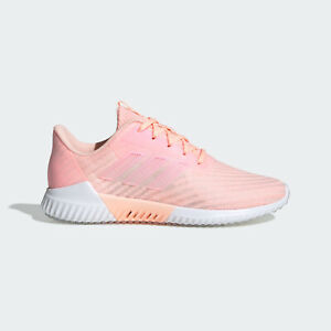 Adidas ClimaCool 2.0 W [B75853] Women Running Shoes Clear Orange/White-Pink