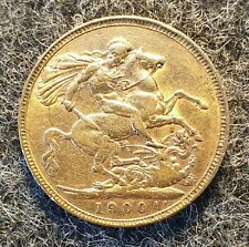 More details for 1900 queen victoria full gold sovereign