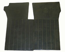 1963-1967 Corvette Black Rubber Floor Mat