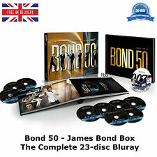 James Bond - Bond 50 The Complete Collection 23-disc Box Set Region - B Blu-ray