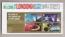 2012 OLYMPIC GAMES WELCOME M/5 GB PRESENTATION PACK NO 474