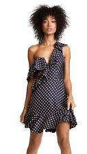 $850 NWT - ZIMMERMANN Women's 'RIFE FLOUNCE' Navy/Mustard DRESS - 4