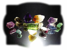 BIXBITE BENITOITE COLOR CHANGE ALEXANDRITE RUBY OPAL TOURMALINE ROUGH CRYSTALS