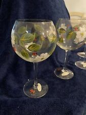 Wine Glasses - Set of 8 - Hand Painted in Portugal