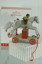 A PONY FOR CHRISTMAS HALLMARK ORNAMENT 2017 #20 IN SERIES~SHIPS NOW~FREE US SHIP