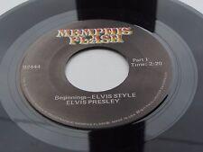 ELVIS PRESLEY  MEMPHIS FLASH BEGINNINGS ELVIS INTERVIEW 1956