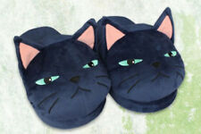 Mary and the Witch's Flower Tib Black Cat Slippers 25cm AMU-PRZ8818 US Seller