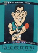 2010 Teamcoach Star Wildcard SW-11 Domenic Cassisi Port Adelaide