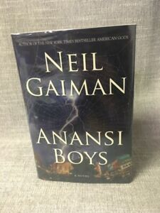 Anansi Boys by Neil Gaiman - Signed First Edition