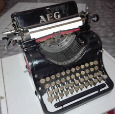 OLYMPIA AEG mod.6 MACCHINA DA SCRIVERE ART DECO' 1930 OLD AND RARE TYPEWRITER