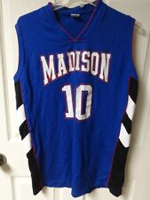 Vintage * Madison Patriots * High School # 10 Basketball Jersey Size Misses 18