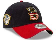 Boston Red Sox Mens New Era 9TWENTY Stars & Stripes Hat Adjustable Cap - NWT