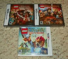 LEGO - Lord of the Rings, Pirates of the Caribbean & Chima - Nintendo DS / 3DS