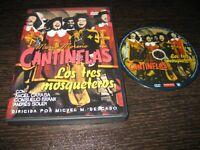 """Les Trois Mousquetaires DVD Mario Moreno """" Cantinflas """""""