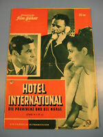 ElizTaylor.Hotel International IFB Filmprogramm 1950.Jahre.Nr.6580-Movie program