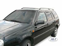 DVW31132 VW GOLF 4 mk4 5doors 1997-2004 wind deflectors 4pc TINTED HEKO