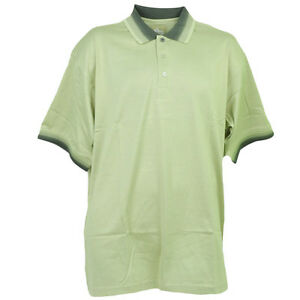 Red Jacket Collar Polo Striped Green Button Dress Shirt Mens Adult Short Sleeve
