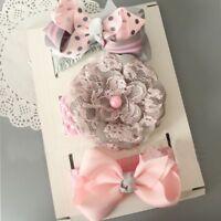 Flower Infant Fashion Accessories Set Band Toddler Baby Headband Hair Girls