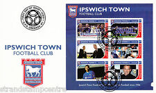 Ipswich Town FC - Premiership Football Commemorative Stamp Sheet from Grenada