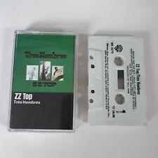 ZZ TOP TRES HOMBRES CASSETTE TAPE WARNER BROS USA 1973