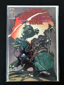 THE LIGHT AND DARKNESS WAR #4 EPIC/MARVEL COMICS 1989 NM+