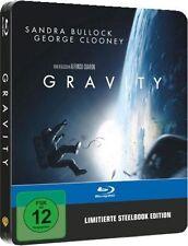 GRAVITY (Sandra Bullock, George Clooney) Blu-ray Disc Steelbook NEU+OVP