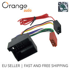 Wiring Lead Harness Adapter for Skoda from 2004 onwards ISO stereo plug adaptor