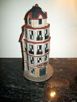 1987 DEPT.56 CHRISTMAS IN THE CITY TOWER RESTAURANT
