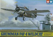 TAMIYA 1:48 KIT AEREO GRUMMAN F4F-4 WILDCAT  LUNGHEZZA 18,4 CM  ART 61034