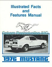 1976 Mustang & Cobra II Feature Spec Manual