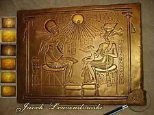 Bas-relief égyptien NEFRETETE echnaton egipt sculpture casting