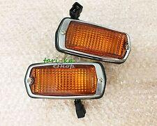 Front Side Marker Lights Amber Lens For DATSUN 510 240Z 260Z 280Z 120Y B210 1200