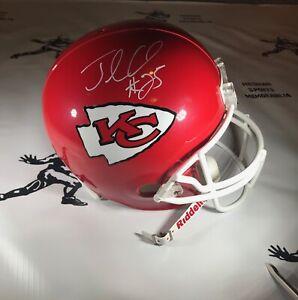 Jamaal Charles Signed Kansas City Replica  Helmet - JSA CERT