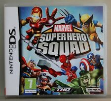 MARVEL SUPER HERO SQUAD - NINTENDO DS - VERSION ESPAÑA - COMPLETO